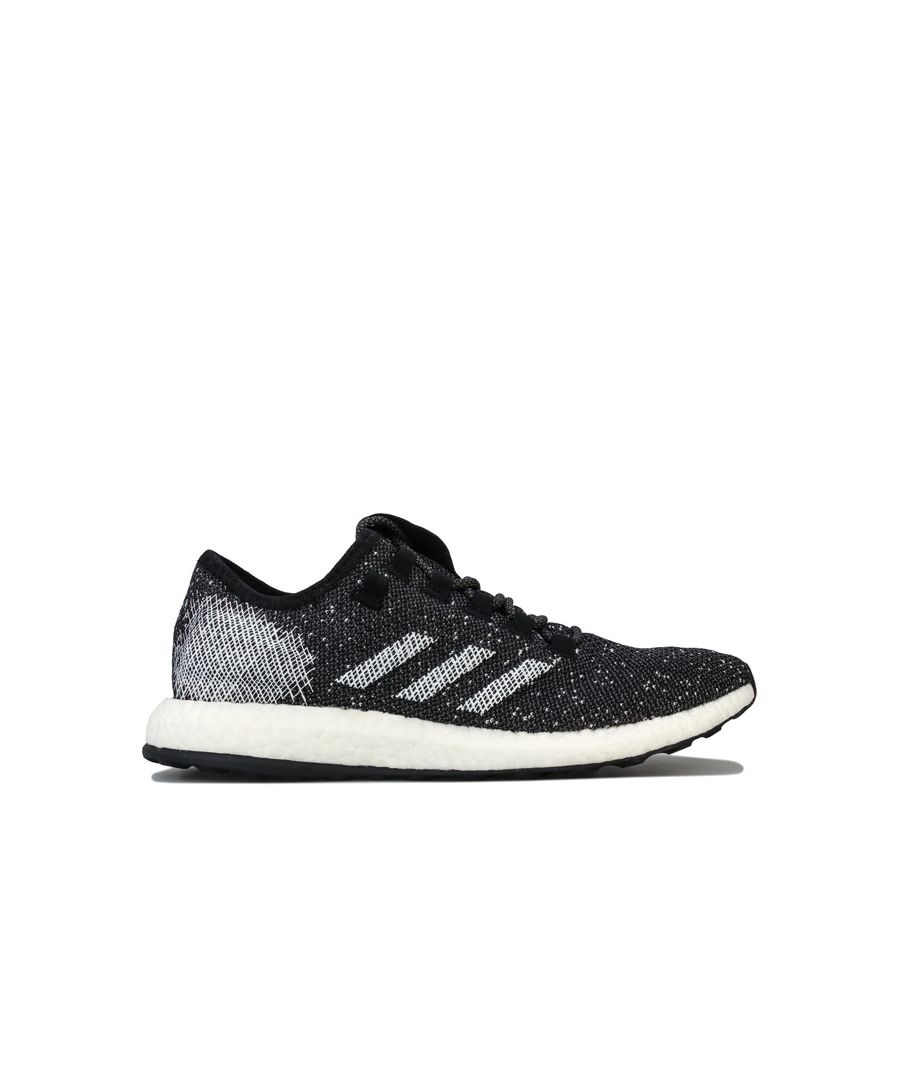 Image for Men's adidas Pureboost Trainers in Black