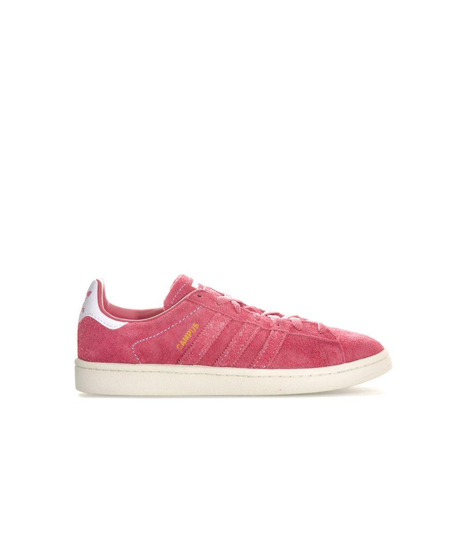 Image for Men's adidas Originals Campus Trainers in Pink white
