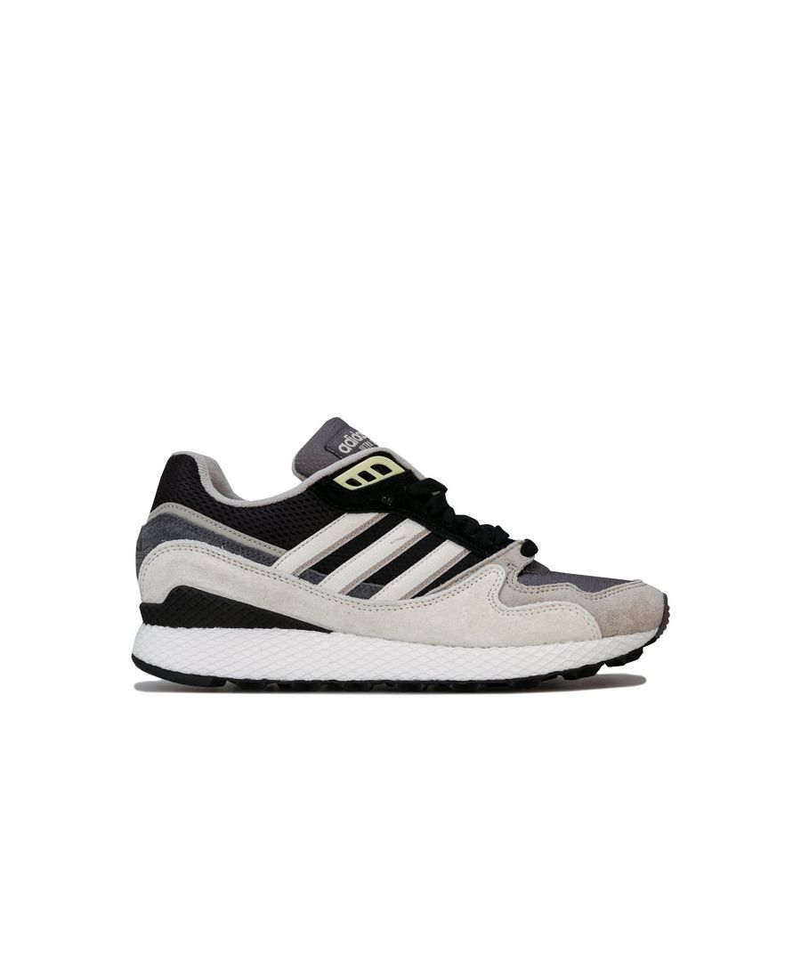 Image for Men's adidas Originals Ultra Tech Trainers in Black-White