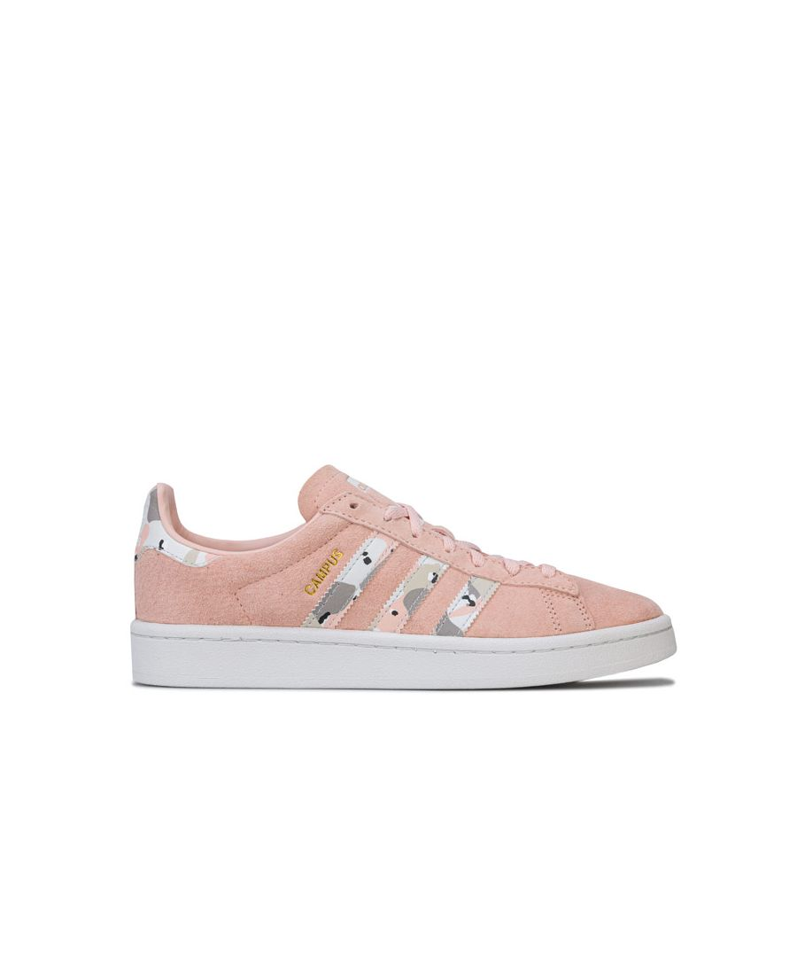 Image for Women's adidas Originals Campus Trainers in Pink