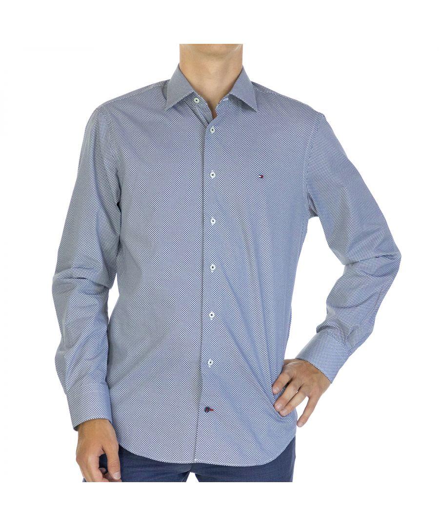 Image for Tommy Hilfiger Men Shirt Regular fit  Full sleeve Blue