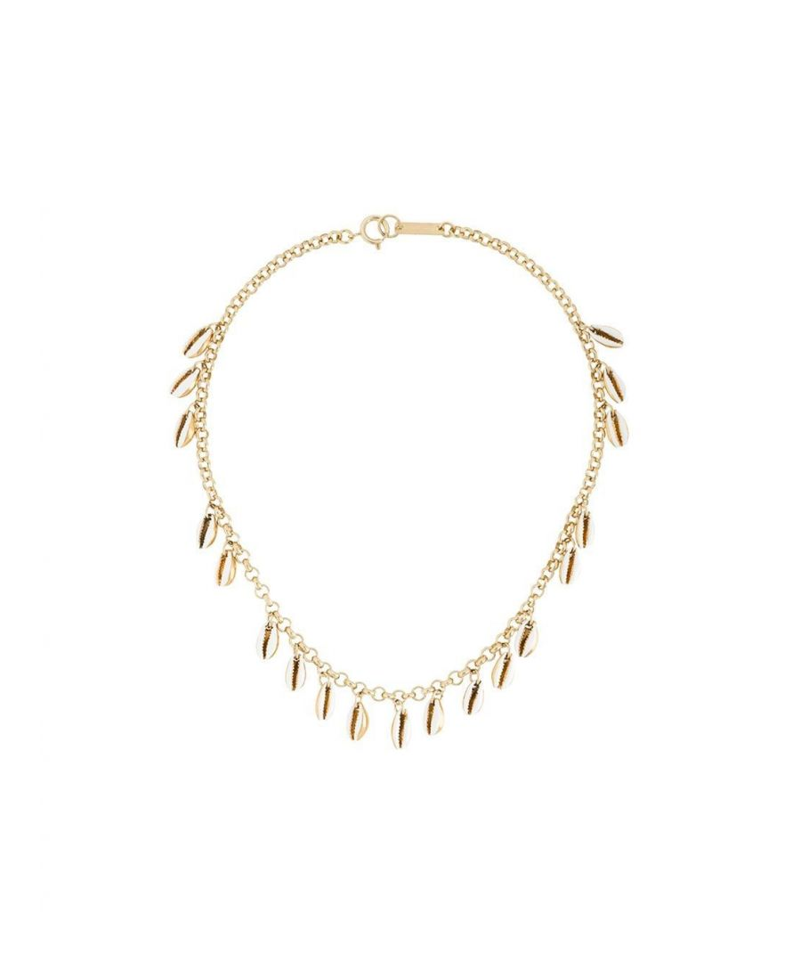 Image for ISABEL MARANT WOMEN'S CO025920P028B23EC GOLD METAL NECKLACE