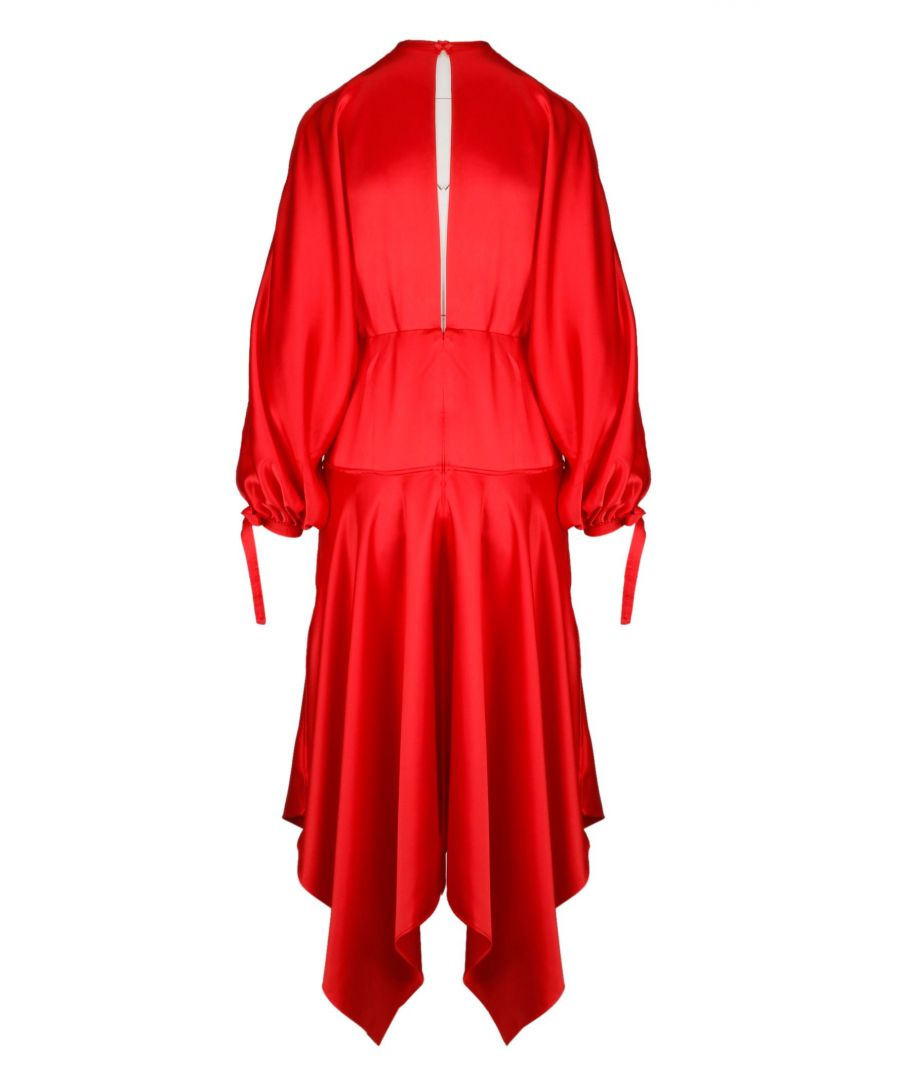 Image for SELF-PORTRAIT WOMEN'S SP19065RRED RED POLYESTER DRESS