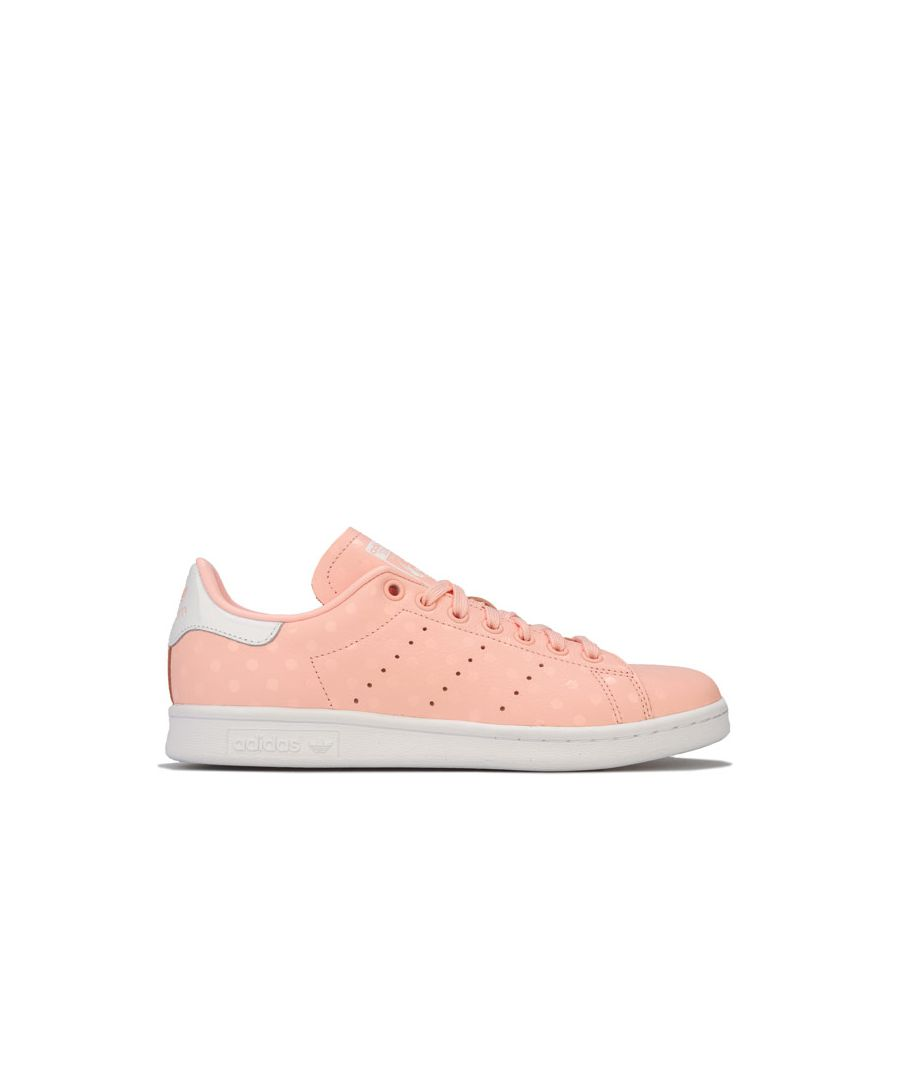 Image for Women's adidas Originals Stan Smith Trainers in Coral