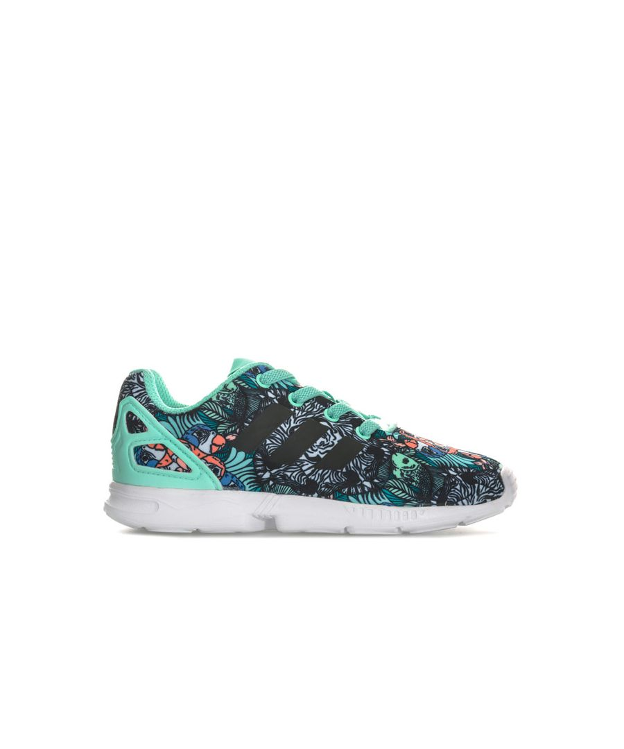 Image for Girl's adidas Originals Infant ZX Flux Trainers in Mint