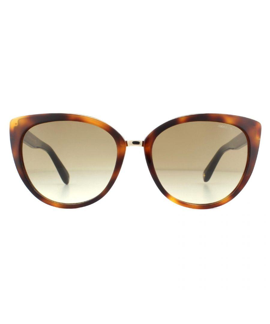 Image for Jimmy Choo Sunglasses Dana/S 112 JD Havana Brown Gradient