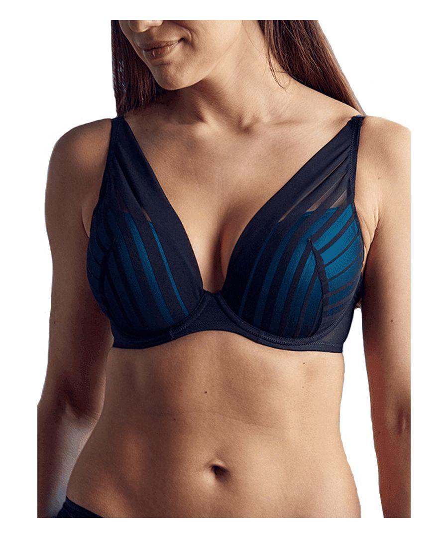 Image for Wonderbra Fabulous Feel Gleavage Triangle Bra in Black