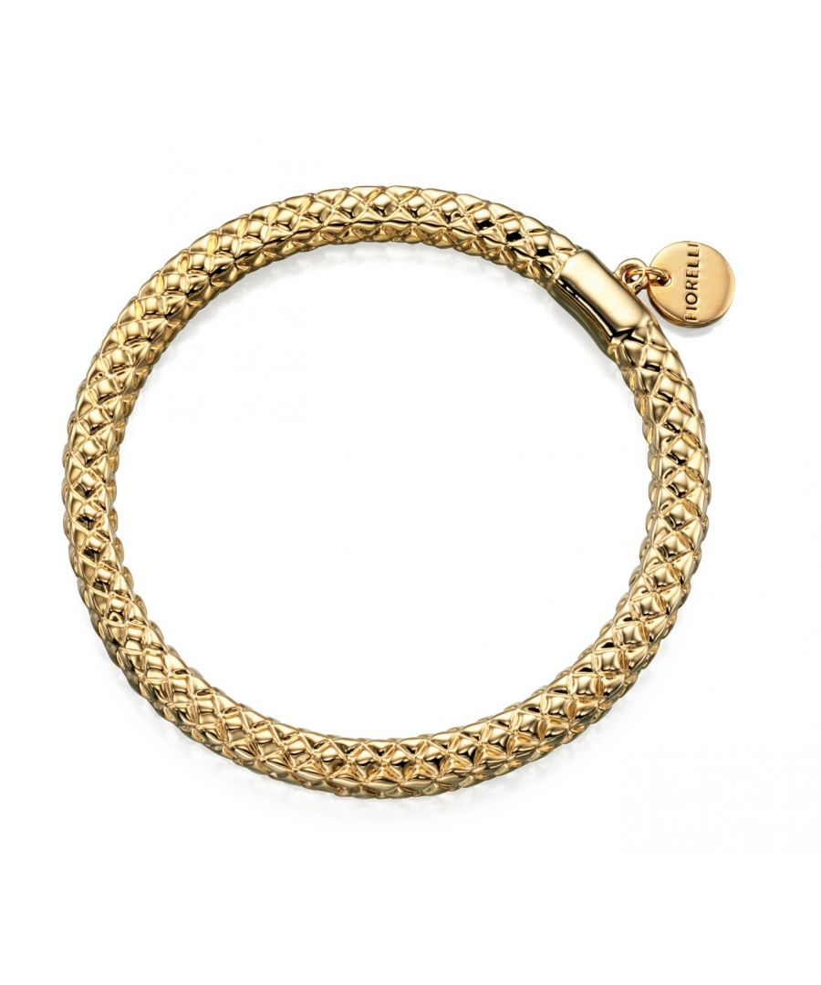 Image for Fiorelli Fashion Gold Plated Disc Charm Bangle