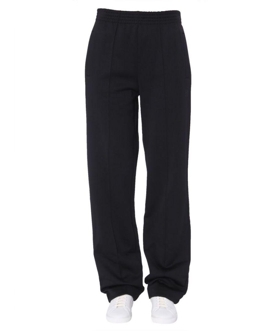 Image for GIVENCHY WOMEN'S BW50B5306W001 BLACK POLYAMIDE PANTS