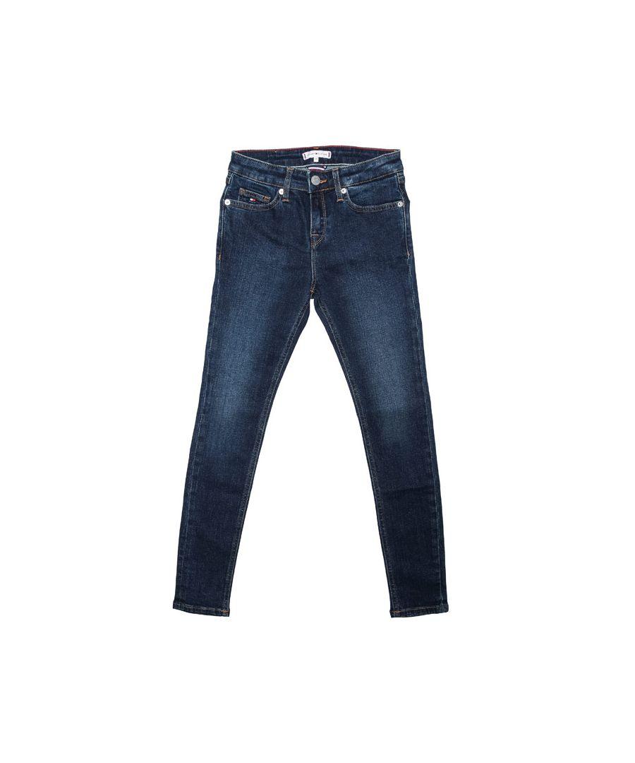 Image for Girls' Tommy Hilfiger Junior Nora Super Skinny Jeans in Denim