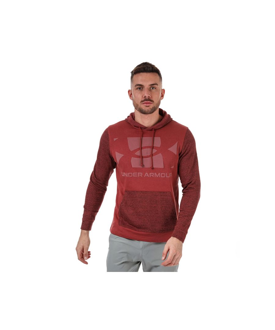 Image for Men's Under Armour Sportstyle Terry Ko Hoodie in Red