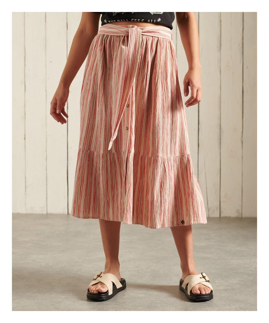 Image for Superdry Midi Skirt
