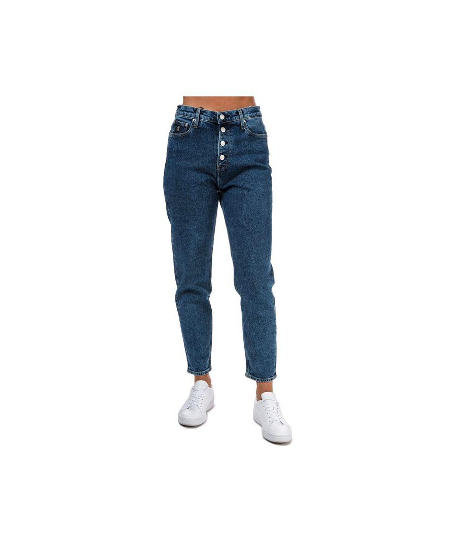 Image for Women's Calvin Klein Mom Jeans in Denim