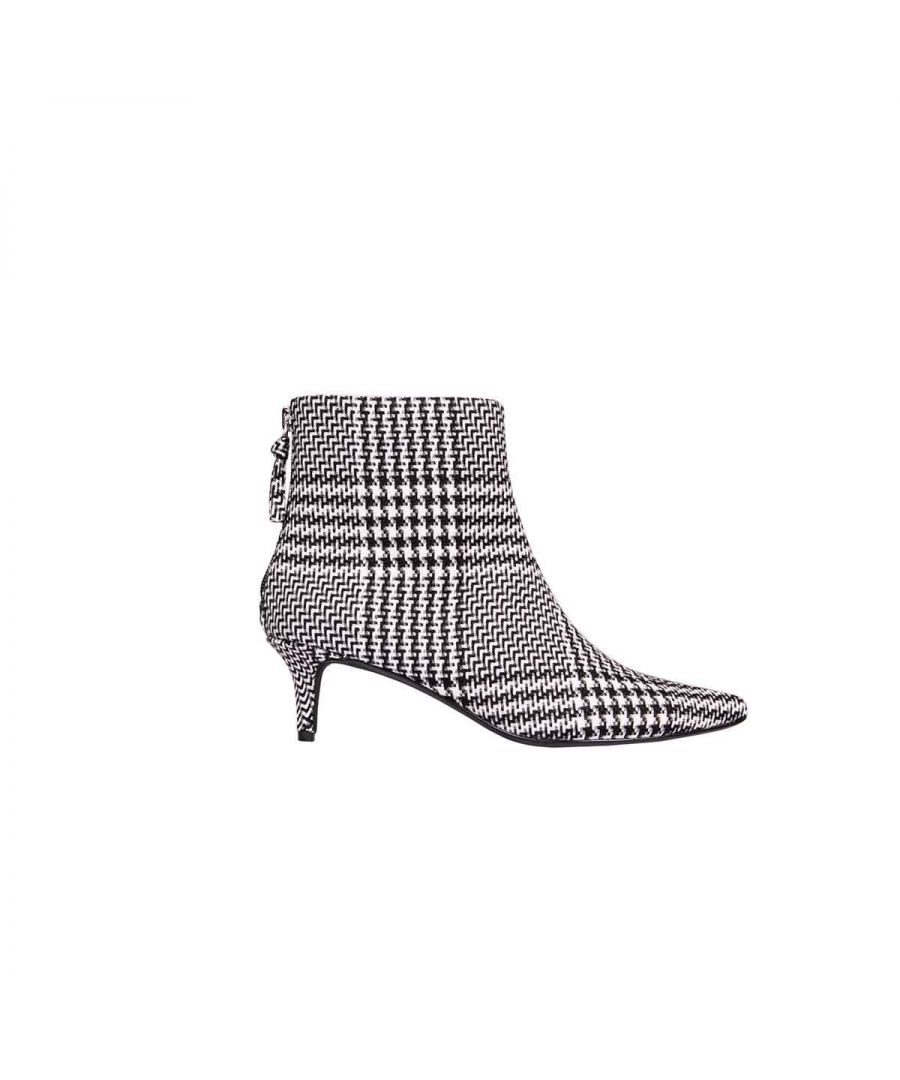 Image for KENDALL + KYLIE WOMEN'S KKKARA03 BLACK FABRIC ANKLE BOOTS