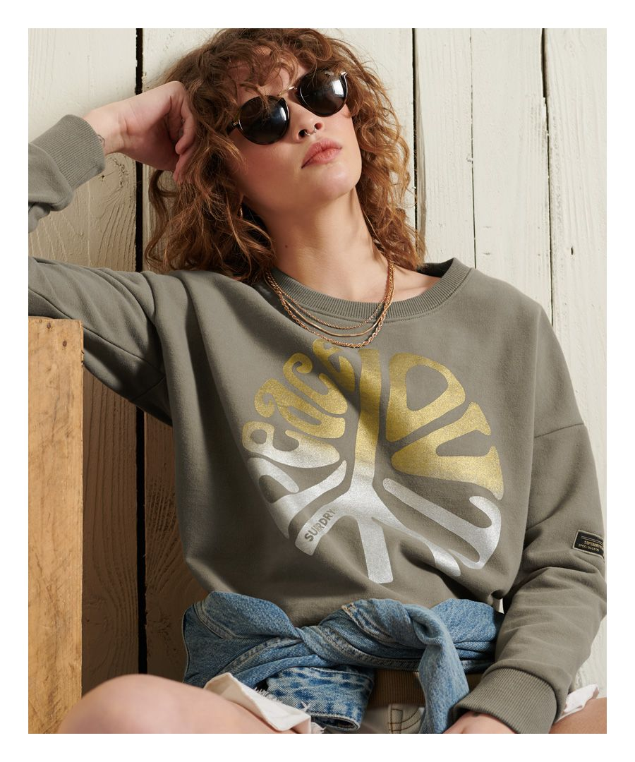 Image for Superdry Military Narrative Sweatshirt