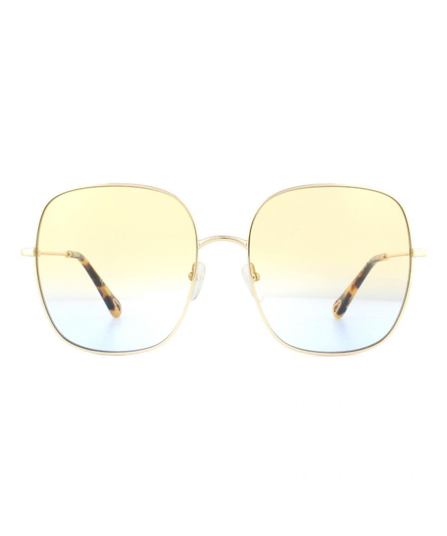 Image for Chloe Sunglasses CE172S 895 Gold Yellow Azure Gradient