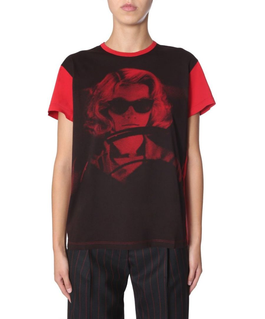 Image for N°21 WOMEN'S F0114013S1Y1 RED COTTON T-SHIRT