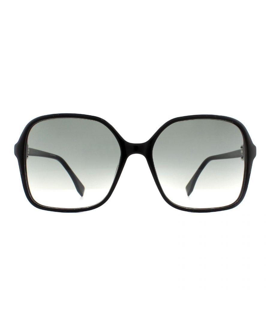 Image for Fendi Sunglasses FF 0287/S 807 9O Black Grey Gradient