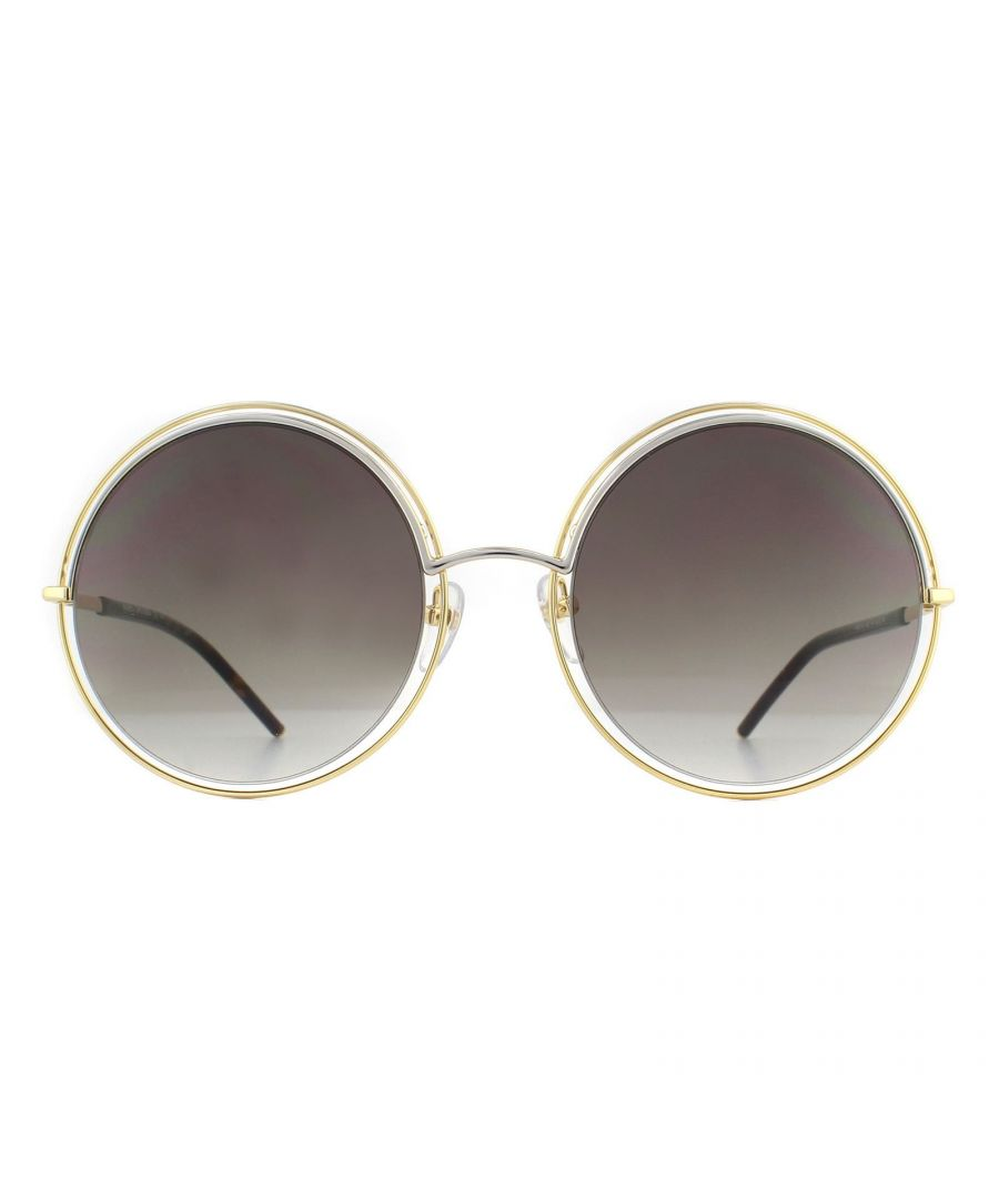 Image for Marc Jacobs Sunglasses MARC 11/S APQ HA Gold and Dark Havana Brown Gradient