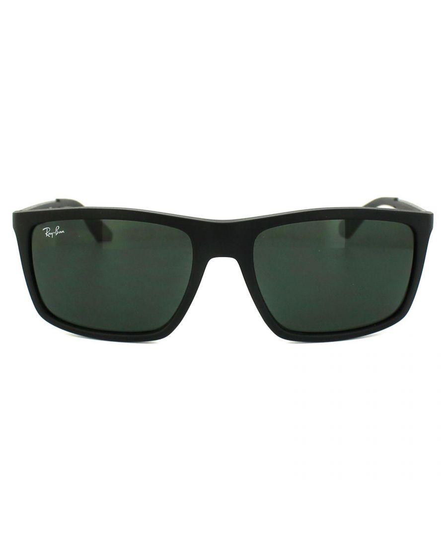 Image for Ray-Ban Sunglasses 4228 601S71 Black & Grey Grey