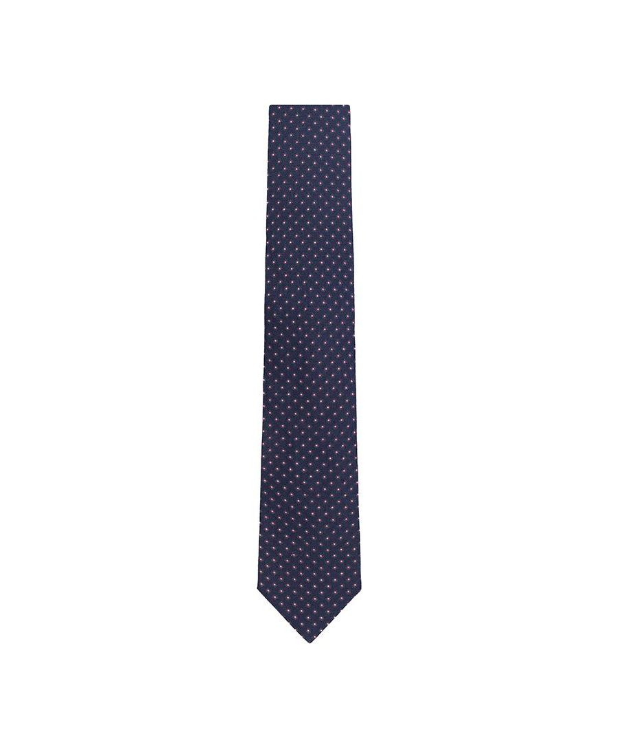 Image for Men's Hackett Bond Neat Tie in Navy
