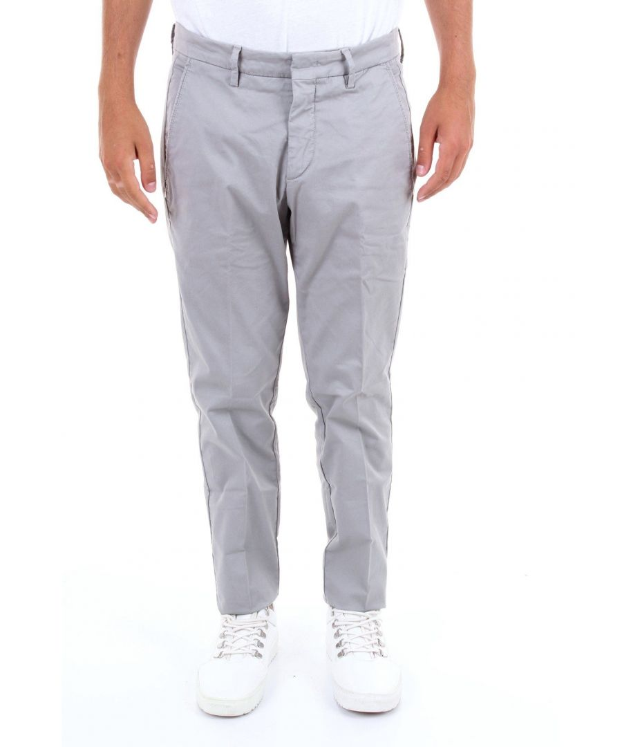 Image for MICHAEL COAL MEN'S BRAD2563GRIGIO GREY COTTON JEANS