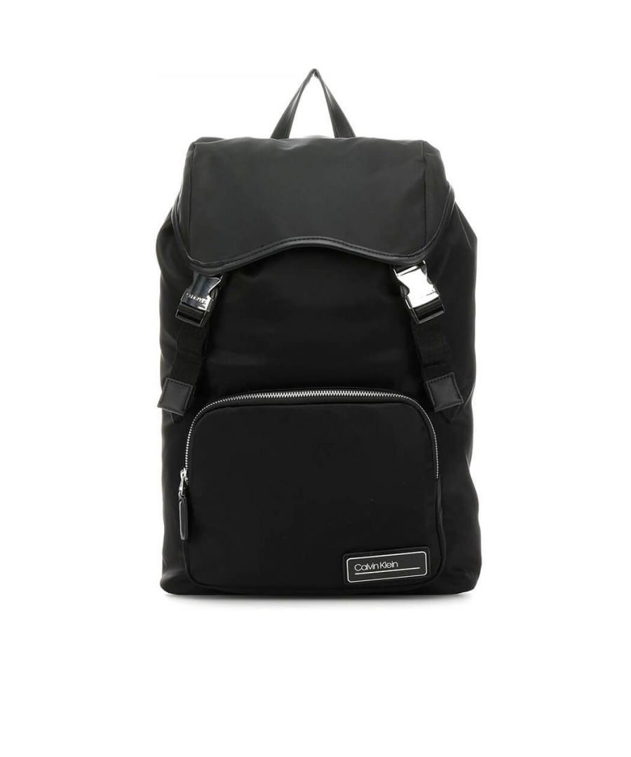 Image for CALVIN KLEIN MEN'S K50K505144BDS BLACK FAUX LEATHER BACKPACK