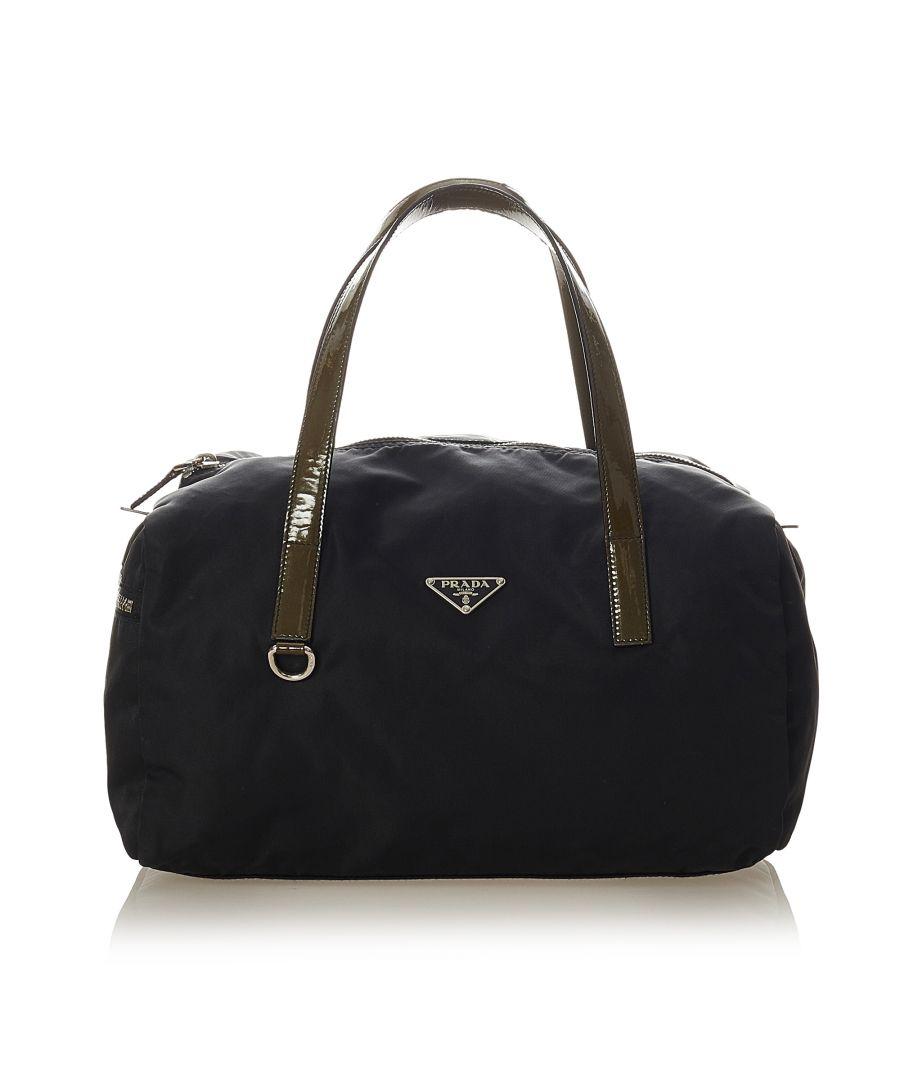 Image for Vintage Prada Tessuto Handbag Blue