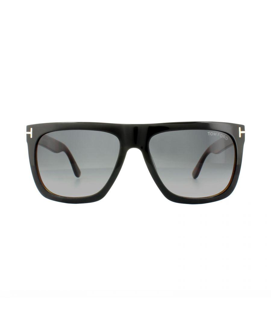 Image for Tom Ford Sunglasses 0513 Morgan 05B Black Havana Grey Gradient