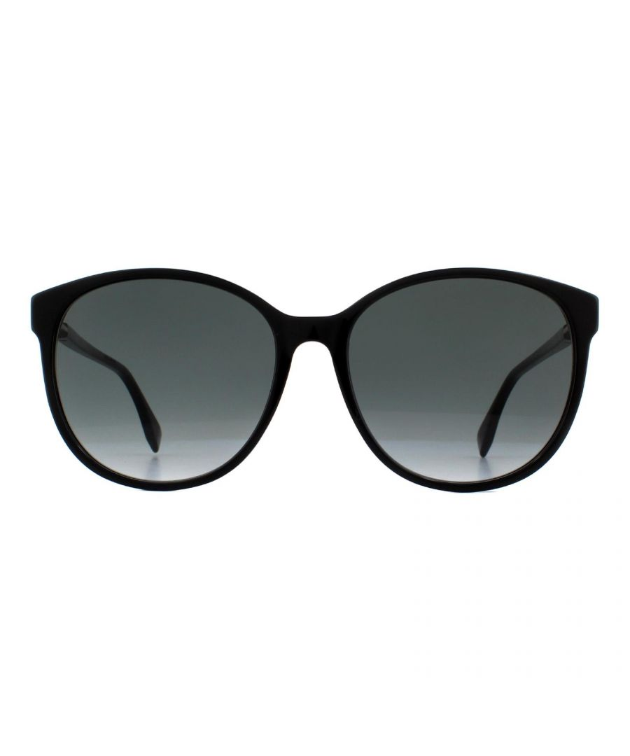 Image for Fendi Sunglasses FF 0412/S 807 9O Black Grey Gradient