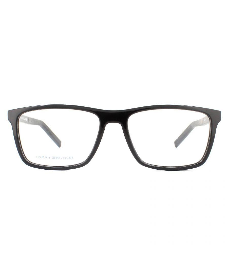 Image for Tommy Hilfiger Glasses Frames TH 1592 807 Black Men