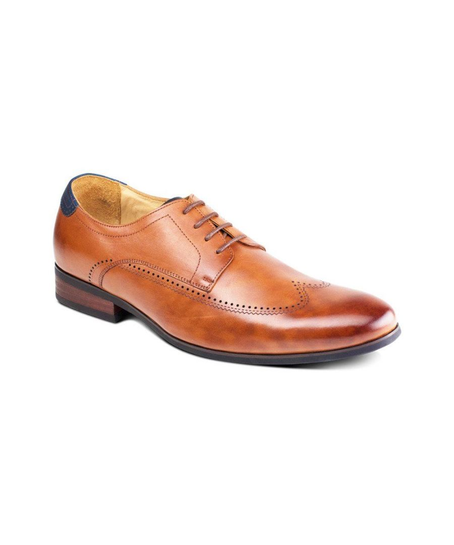 Image for Padova Brown Oxford Shoe