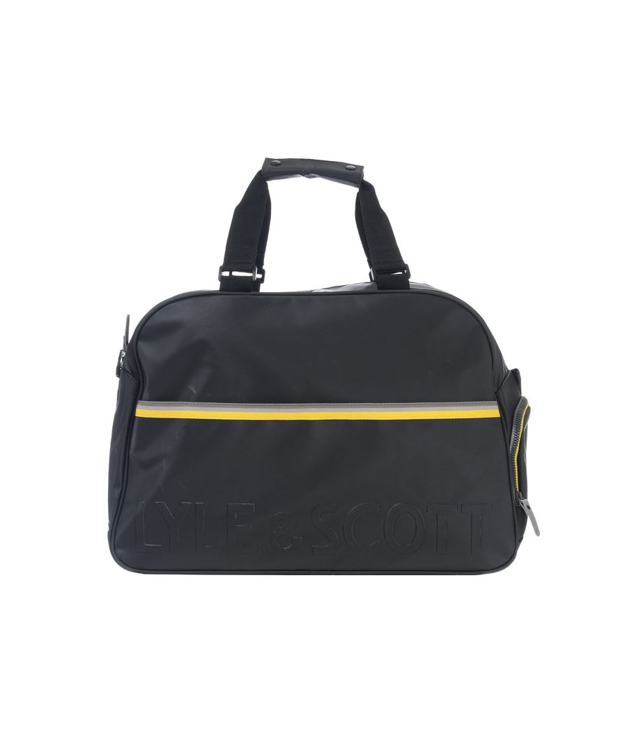 Image for Accessories Lyle And Scott Weekender Bag in Black