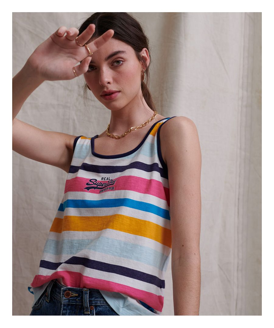 Image for Superdry Micro Stripe Classic Vest