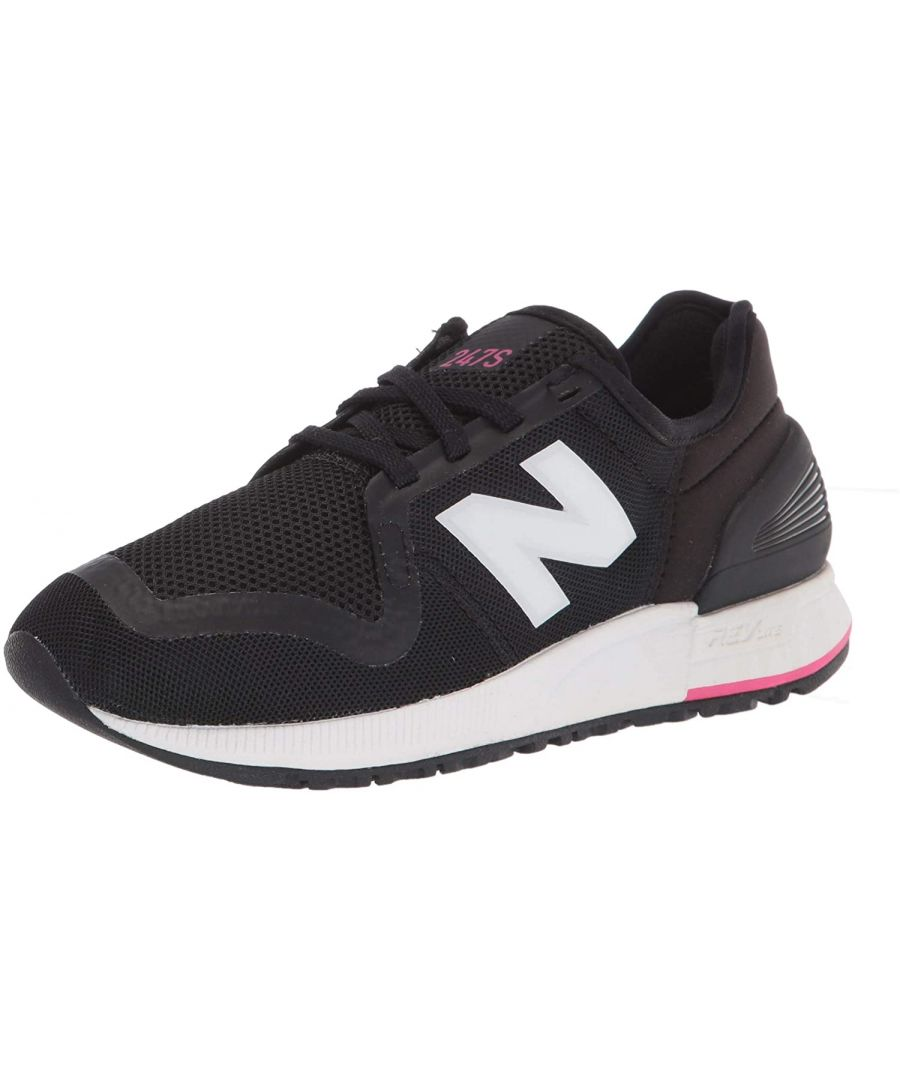 Image for Women's New Balance 247 Sneakers in Black