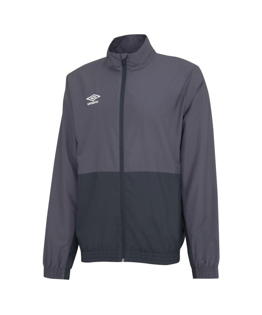 Image for Umbro Boys Woven Training Jacket (Carbon Grey/Black)