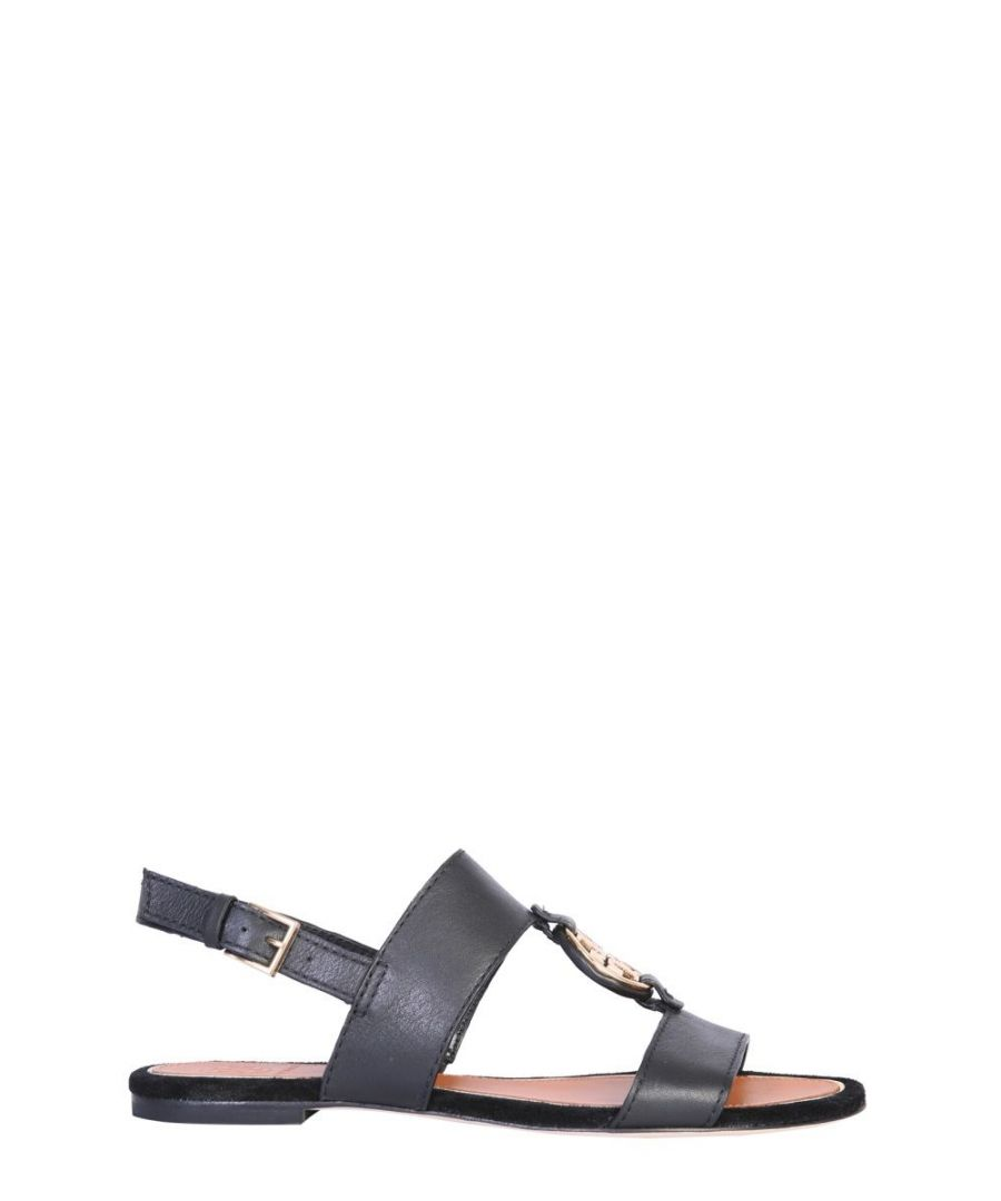 Image for TORY BURCH WOMEN'S 63246013 BLACK LEATHER SANDALS
