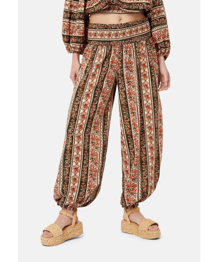 Image for Bali Loungewear Trousers in Bohemian Print