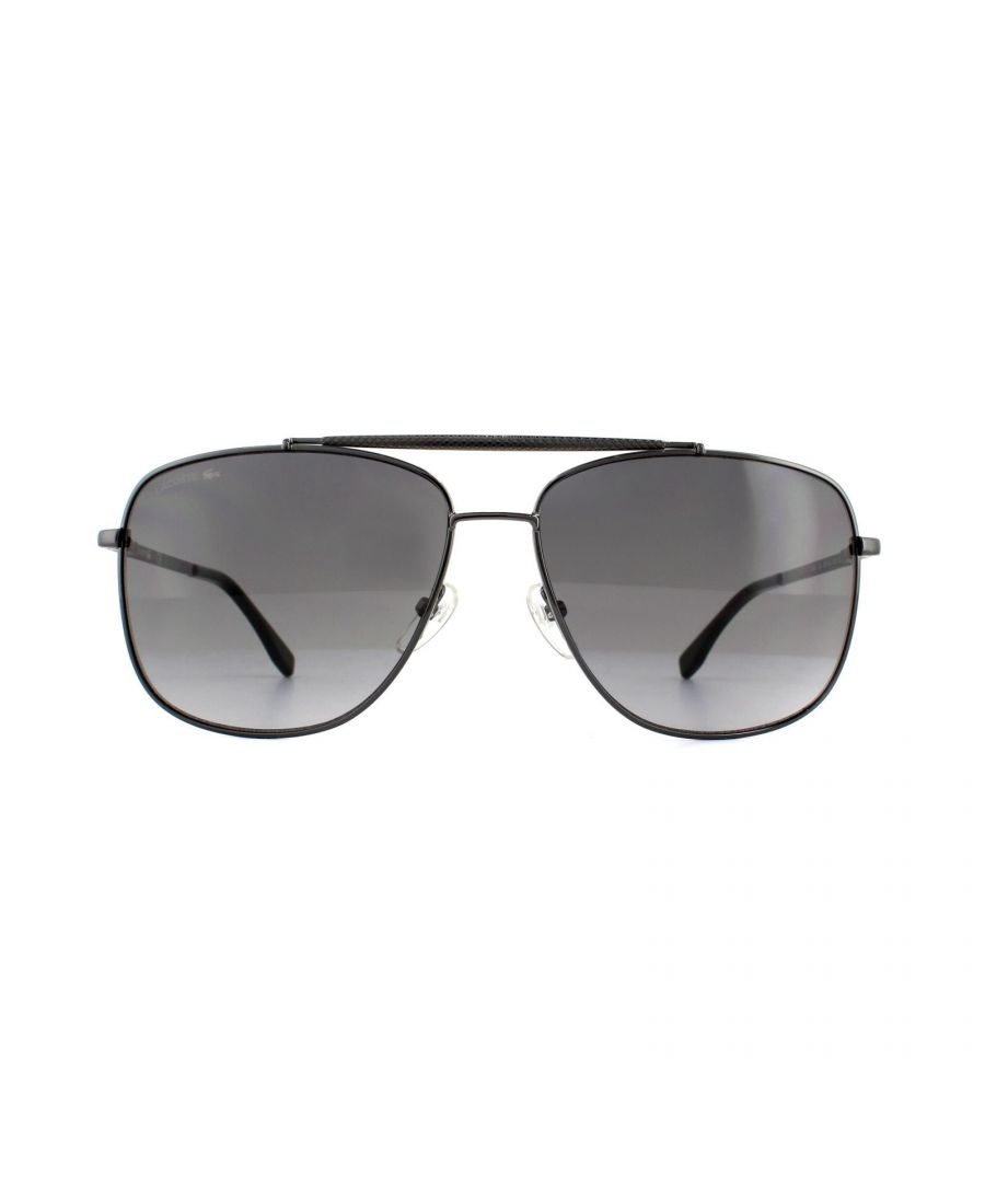 Image for Lacoste Sunglasses L188S 033 Gunmetal Grey Gradient