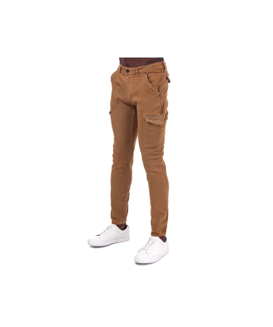 Image for Men's Ringspun Barrack Super Skinny Twill Cargo Pant in Sand