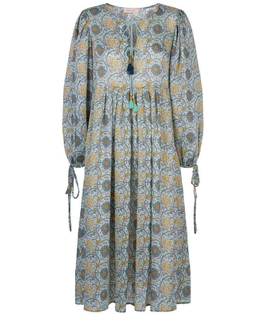 Image for Boho Blues Dress
