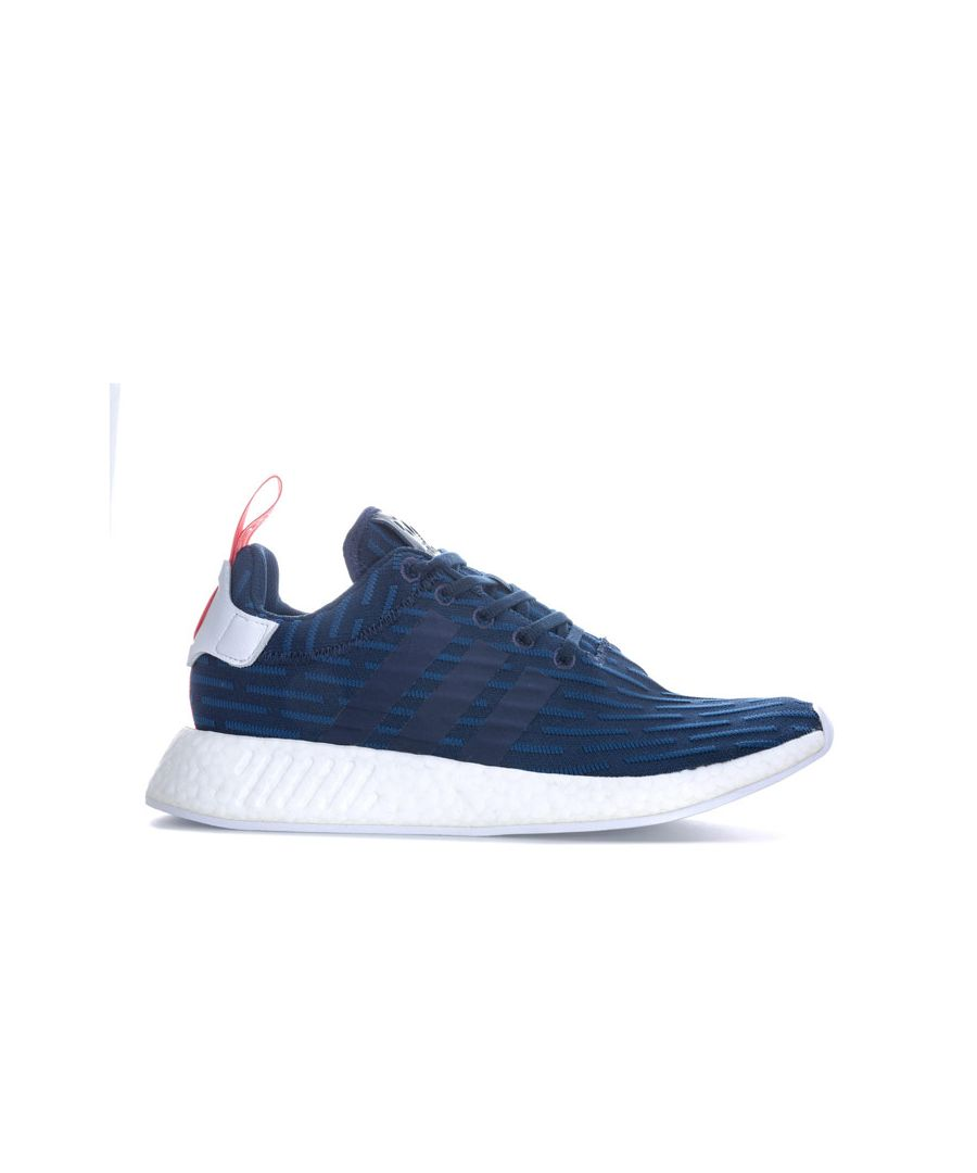 Image for Men's adidas Originals NMD_R2 PK Trainers in Navy