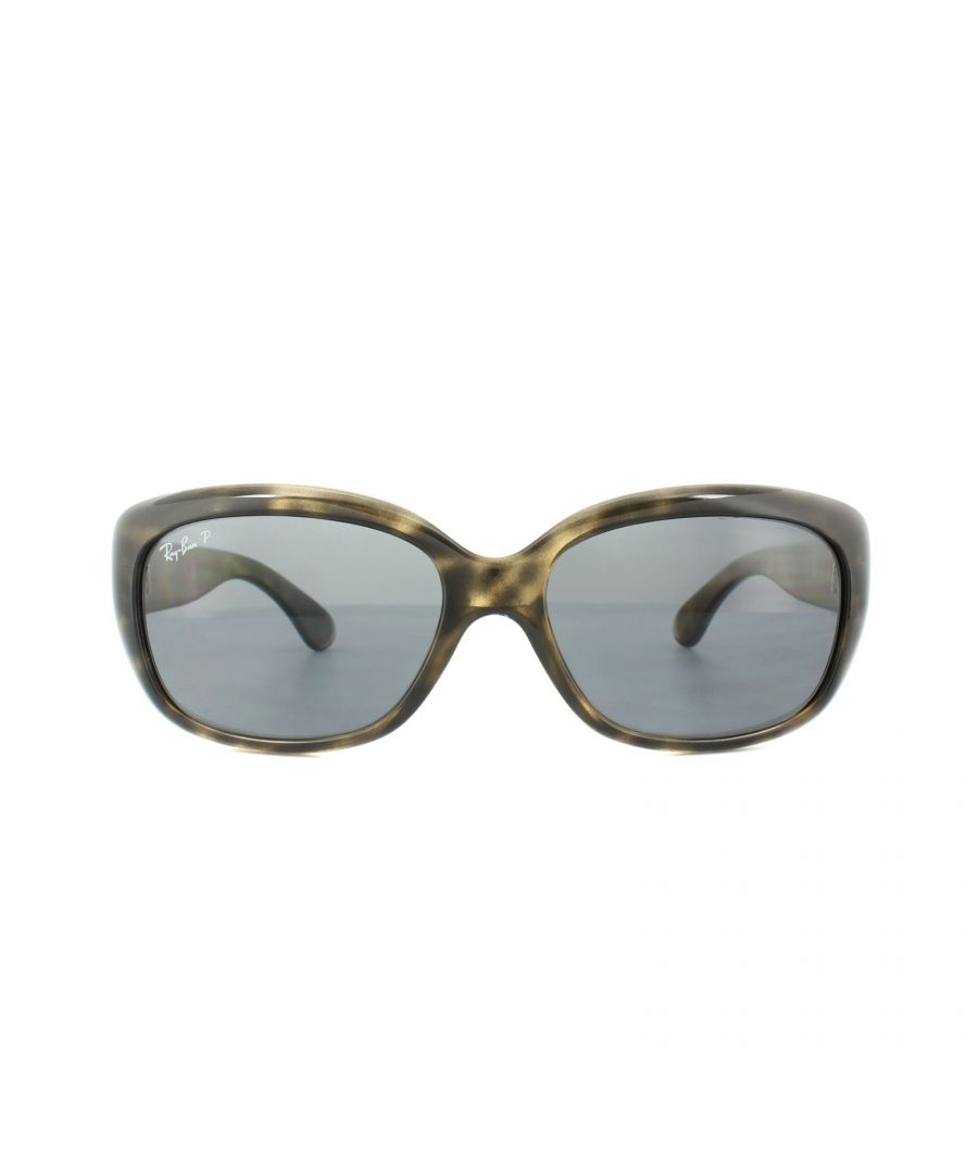 Image for Ray-Ban Sunglasses Jackie Ohh 4101 731/81 Tortoise Grey Gradient Polarized