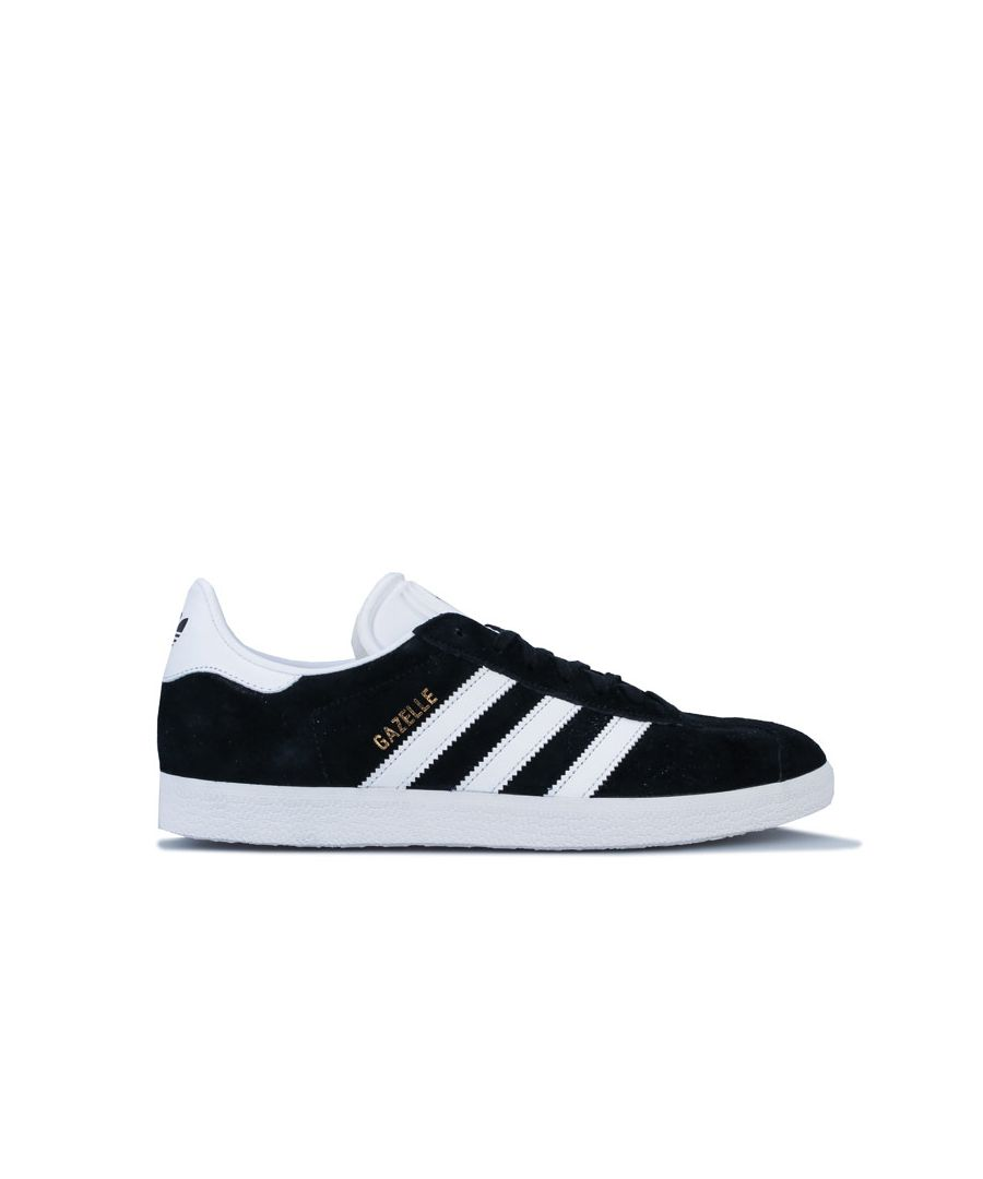 Image for Men's adidas Originals Gazelle Trainers in Black