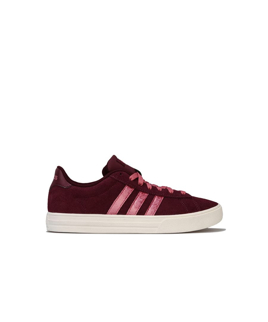 Image for Women's adidas Daily 2.0 Trainers in Burgundy