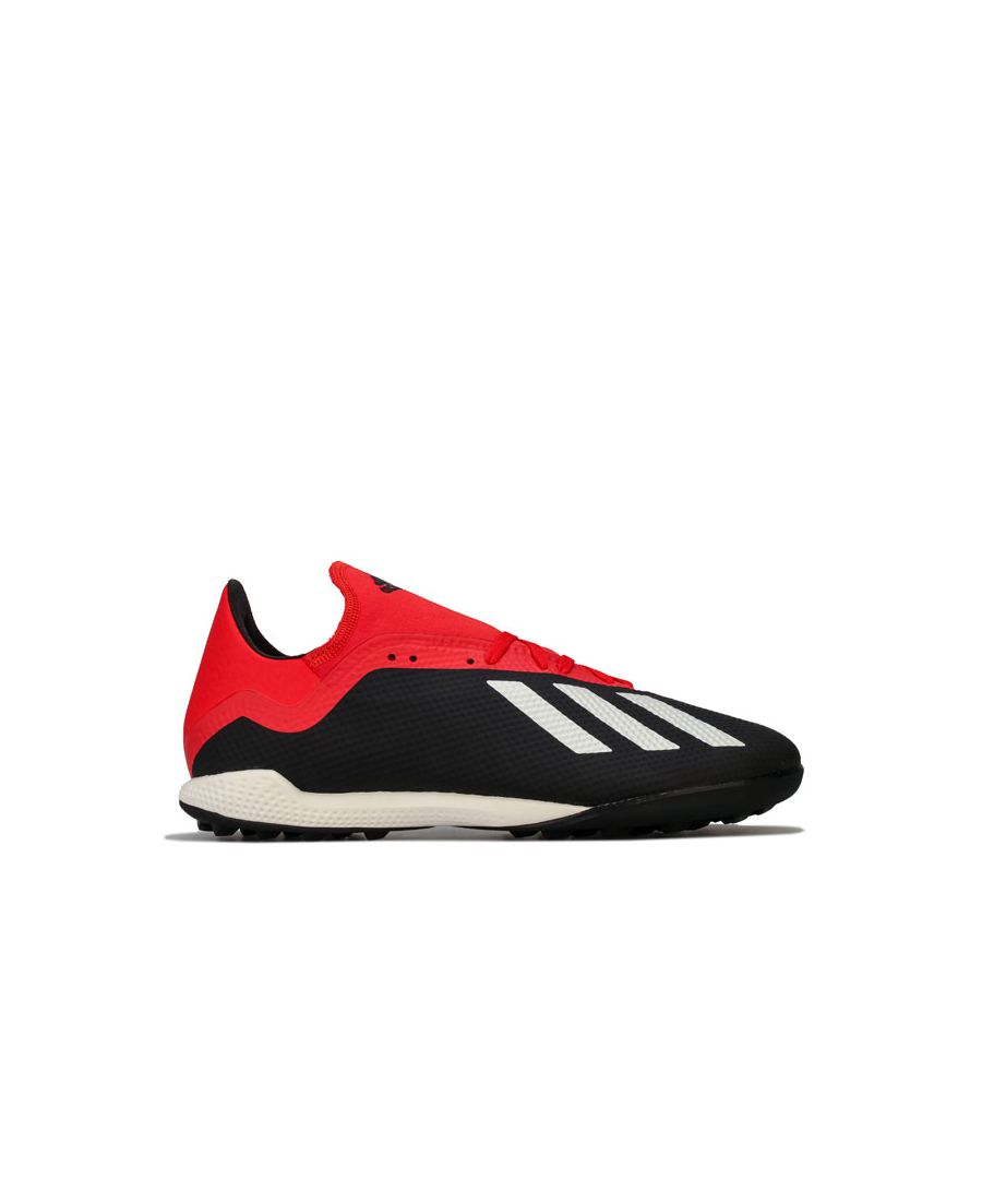 Image for Men's adidas Mers X Tango 18.3 TF Football Trainer in Black Red