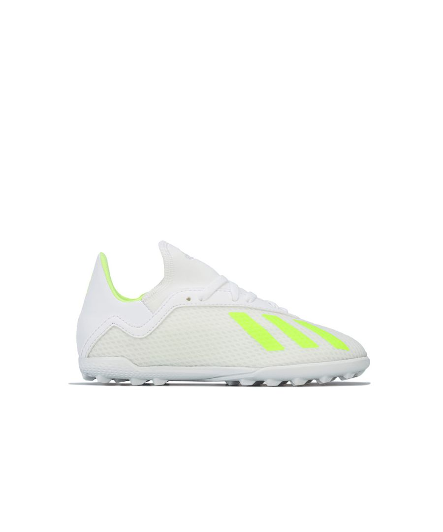 Image for Boy's adidas Junior X 18.3 Astro Turf Trainers in White