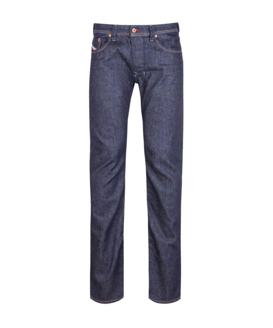 Image for Diesel Larkee Dark Blue Regular Jeans