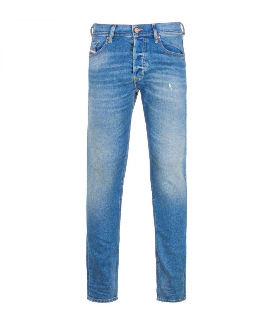 Image for Diesel Tepphar Slim Fit Light Blue Denim Jeans