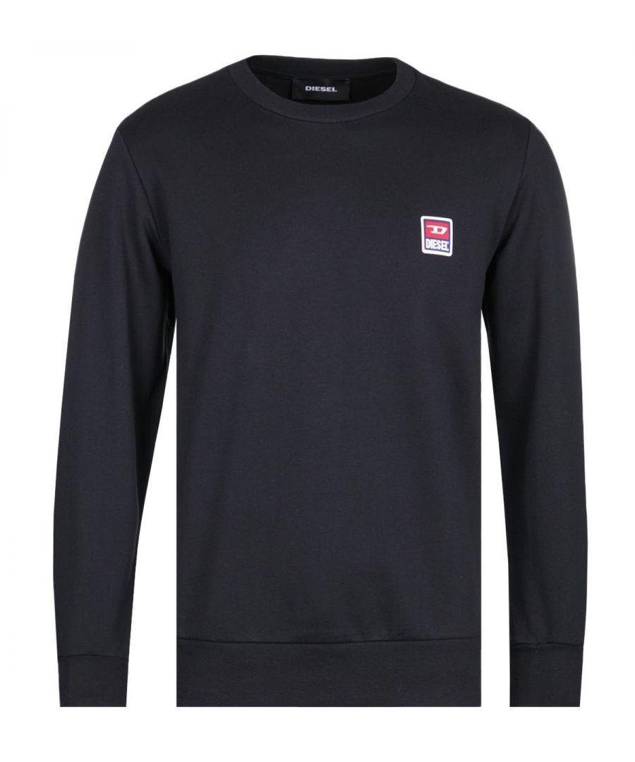 Image for Diesel Racing D Black Logo Sweatshirt